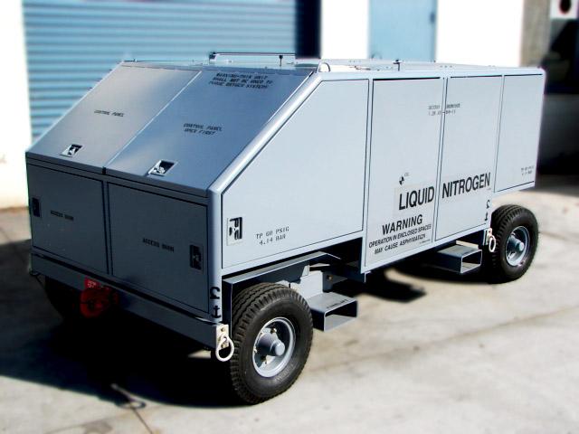 Liquid Nitrogen Servicing Unit